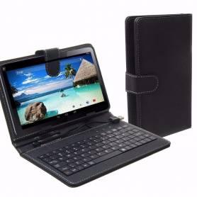 """Funda para Tablet 10"""" con teclado Universal Lisa"""