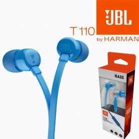 Auricular in ear JBL T110 Pure Bass Azul