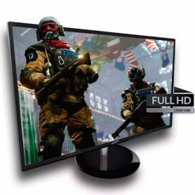 "Monitor Gamer LED 24"" Sentey  MS-2405 HDMI / VGA / DVI / AUDIO 2 x 2W"