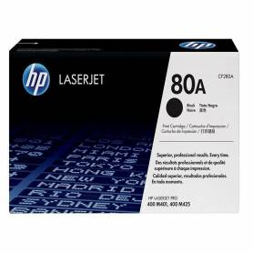 Cartucho HP 80A toner original