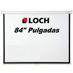 """Pantalla LOCH para proyector 84"""" Pulgadas"""
