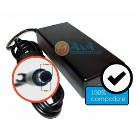 Cargador generico  Notebook HP / Compaq 18.5V / 3.5 A Pin Grueso