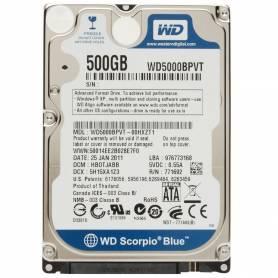 Western Digital 500GB sata 3 Notebook