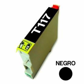 Cartucho para Epson 117 negro alternativo