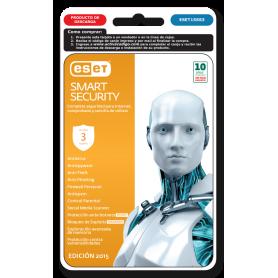 ESET Smart Security 3 PC 1 Año 2015