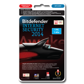 Bitdefender Internet Security 1 PC 1 año BIT14ISP