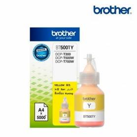Tinta original BROTHER BT5001Y Yellow
