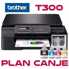 Impresora Brother DCP-T300 sistema continuo