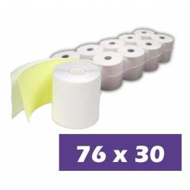 Papel Quimico 76x30 Pack 10 unidades
