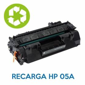Recarga de toner HP 80A CF280A