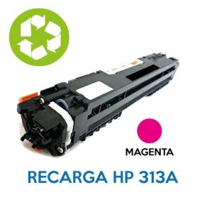 Recarga de toner HP CE313A 126A MAGENTA