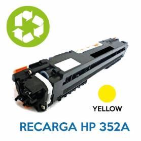 Recarga de toner HP CE352A 130A YELLOW
