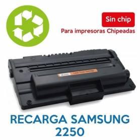 Recarga de toner SAMSUNG 2250 sin chip ML-D2250