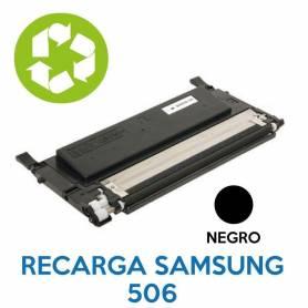 Recarga de toner SAMSUNG 506 NEGRO CLT-K506L