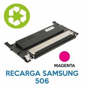 Recarga de toner SAMSUNG 506 MAGENTA CLT-K506L