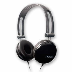 Auricular Noga NG-901 negro con control de volumen en el cable