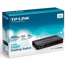 Switch TL-SF1016D de 16 puertos a 10/100Mbps de escritorio