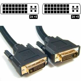 Cable DVI 1,8MTS M-M