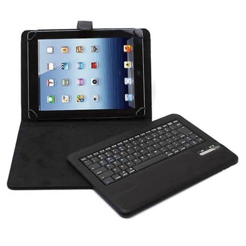 Funda con teclado inalambrico para tablet 9 noga nkb 09bt - Fundas con teclado para tablet ...