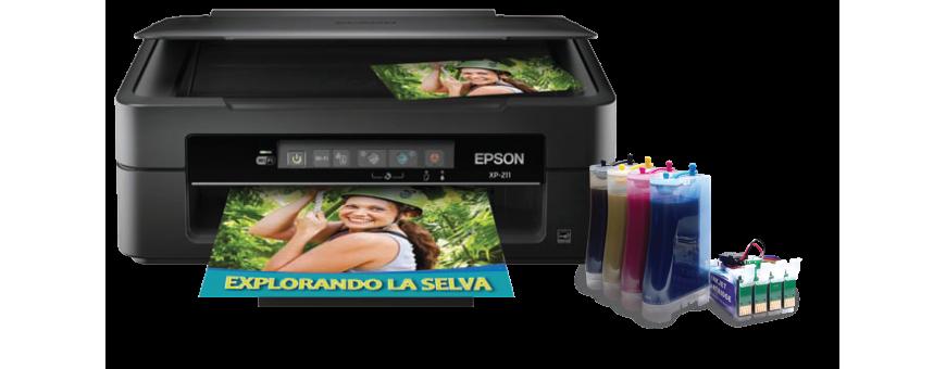 Impresoras con tinta que parece inagotable...