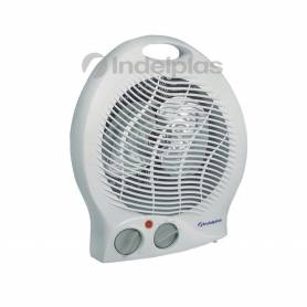 Caloventor Electrico 2000w 2 Potencias Termostato Indeplas IC-01
