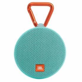 Parlante Jbl Clip2 Bluetooth Portátil Sumergible Azul