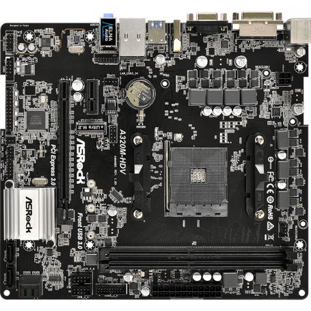 Motherboard Asrock A320M-HDV R4 0 DDR4