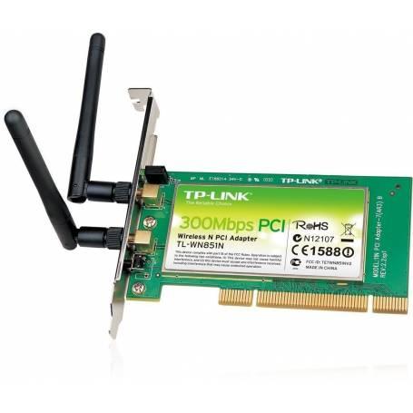 Adaptador PCI Inalámbrico N de 150Mbps TL-WN751ND