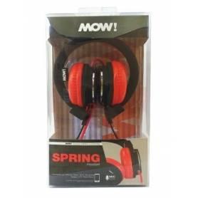 Auricular MOW SPRING MIX Negro / Rojo