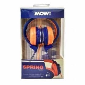 Auricular MOW SPRING MIX Azul / Naranja