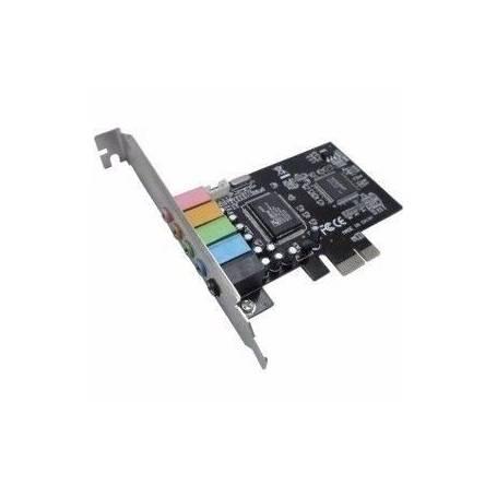 Placa PCI EXPRESS de SONIDO 5.1 6CH NM-E651
