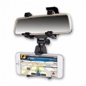 """Soporte de espejo retrovisor  para Smartphones hasta 5"""" Noga NG-HOLD7"""