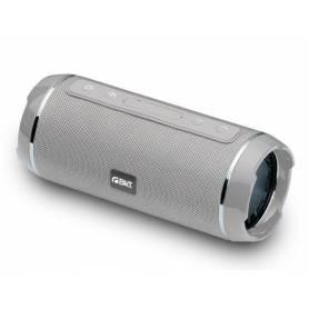 Parlante Bluetooth BkT PBB401 10W Resistente al Agua, GRIS