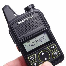 Handie Baofeng BFT1 UHF Manos Libres 5w 25km Handy