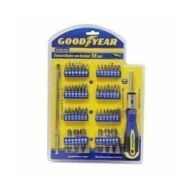 Set Destornilladores Ratchet 58 piezas Goodyear