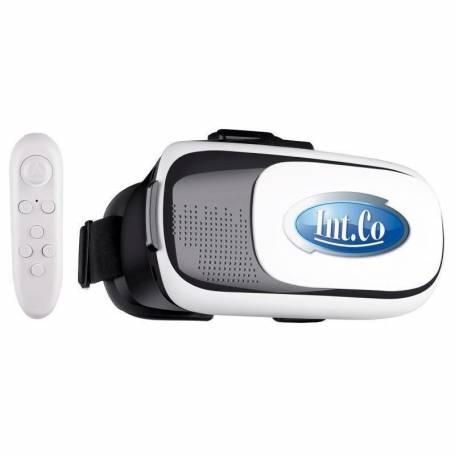 Lentes Realidad Virtual 3d C/ Remoto INT-CO para smartphones