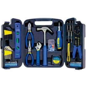 Juego de herramientas 129 piezas Goodyear GY-HTK-5009