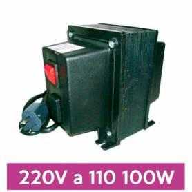 Transformador de 220V a 110V de 100W