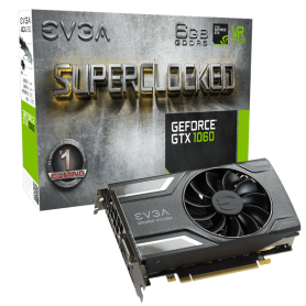 EVGA GeForce GTX 1060 GAMING  6GB GDDR5