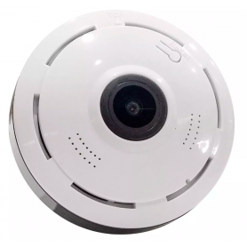 Camara Ip HD Domo Wifi 360 Kanji Domu Panoramica Usb Fisheye