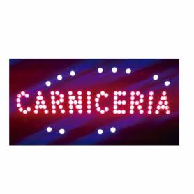 "Cartel LED ""CARNICERIA""  48x25"