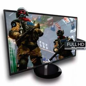 "Monitor Gamer LED 24"" Sentey  MS-2405 HDMI / VGA / DVI / AUDIO 2 x 2W"
