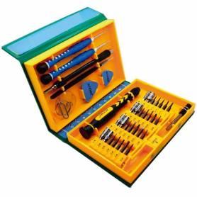 Kit profesional 38 Piezas para reparación de celulares y equipos electrónicos