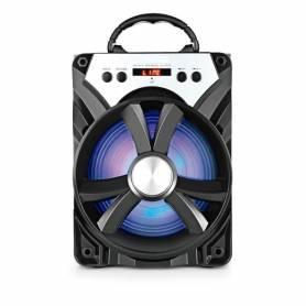 Parlante Bluetooth Radio FM lee Pendrive y tarjetas de memoria MS276