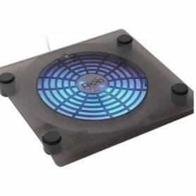 Base Cooler Notebook NETMAK NM-N104 Soporta hasta 15 Pulgadas