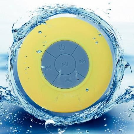 Parlante portatil Bluetooth Noga Go NG-P78 P/Ducha Amarillo  (N3C)