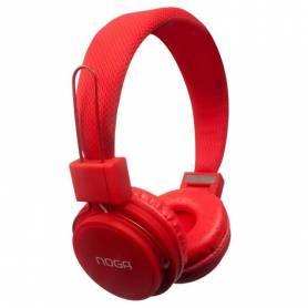 Auricular Noga NG-55 Fit Color Rojo