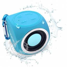 Parlante portatil Bluetooth Noga S-CUBE WaterProof  (N3C)