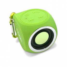 Parlante portatil Bluetooth Noga S-CUBE WaterProof (N3C)