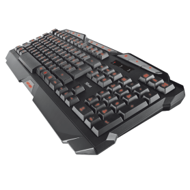 Teclado Gamer RETROILUMINADO TRUST GXT280 3 Led colores